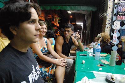 Felipinho Cereal, Carla e Arthur Mitke, Rio-Brasília, 22 de dezembro de 2007