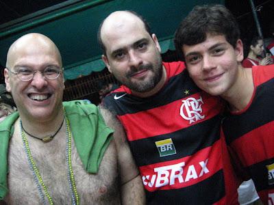 Alberto Mussa, Leo Boechat e Henrique Blom, Rio-Brasília, 24 de fevereiro de 2008