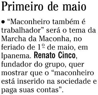 nota publicada na coluna GENTE BOA do SEGUNDO CADERNO de O GLOBO de 10 de janeiro de 2010