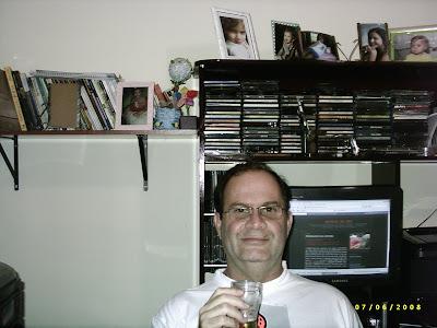 Cláudio Menezes, leitor do BUTECO de Volta Redonda, RJ