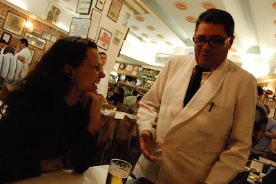 Thaís e Cícero, no Capela, Lapa, Rio de Janeiro, 18 de outubro de 2008
