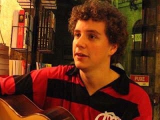 Tiago Prata em 25 de agosto de 2007 na LIVRARIA FOLHA SECA