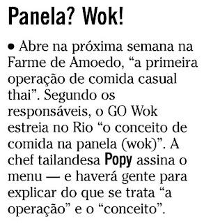 nota publicada no SEGUNDO CADERNO de O GLOBO de 21 de maio de 2010