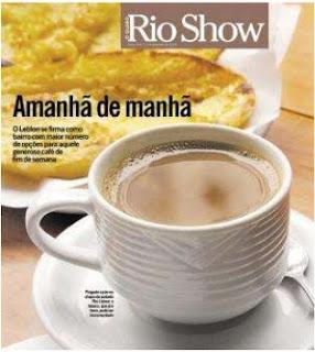 capa da revista RIO SHOW de O GLOBO de 11 de setembro de 2009