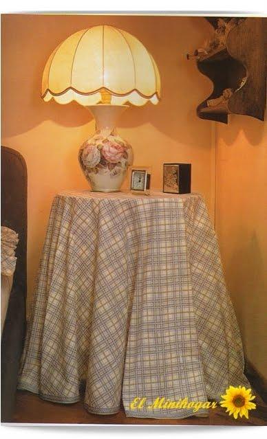 El minihogar como hacer una falda para la mesa camilla - Como hacer una tarima para mesa camilla ...