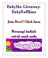 BabyIbu Giveaway: BabyRuffkins
