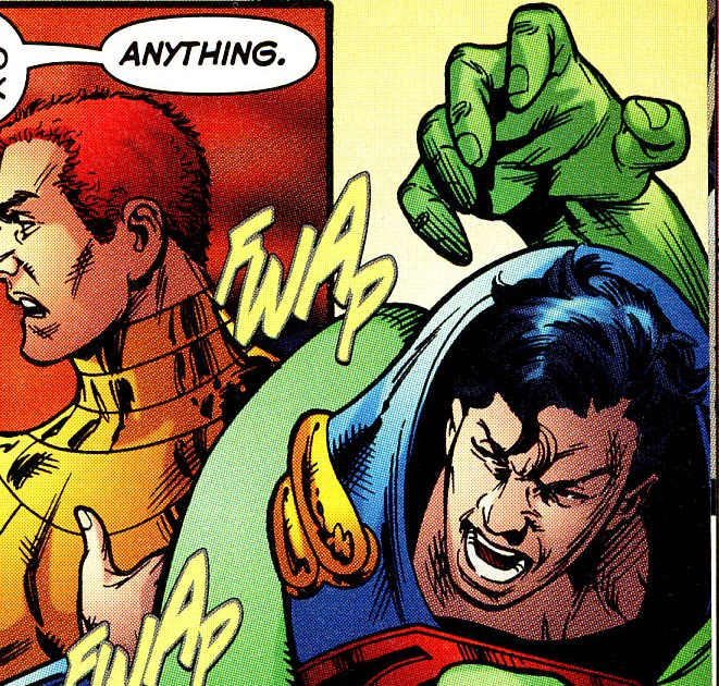 Every Day Is Like Wednesday Man Up Martian Manhunter Pt 2 Superboy Prime