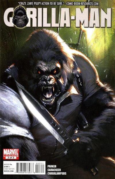 gorilla man  3  marvel comics
