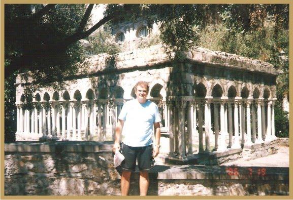 Luiz Flávio Madeira em Visita à Roma