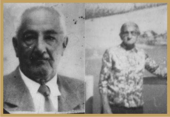 Sr. Antônio de Chagas Madeira e Maria Alcina de Oliveira Madeira