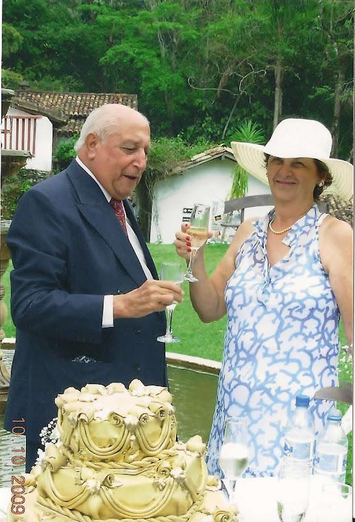Cinquenta Anos de muito Amor e Respeito e Carinho