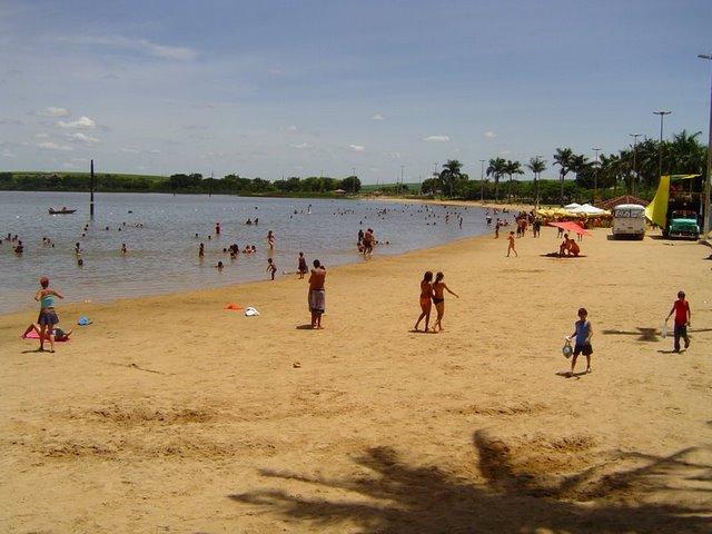 Praia de Lagoa da Prata - Minas Gerais