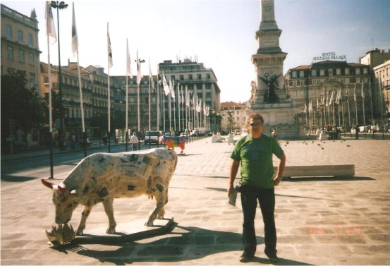 Flávio Madeira em Cursos pela Europa