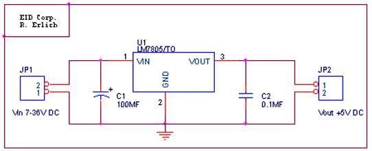 voltage regulator lm7805 telecommunication and electronics projects 7805 voltage regulator pinout this eliminates any high frequency ac voltage that could otherwise combine with the output voltage the circuit diagram below shows which a typical use of a