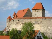 Harburg Castle in Germany