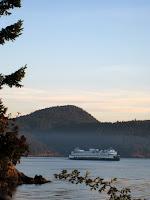 San Juan Islands ferry in Washington