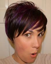 My Purple Hair!