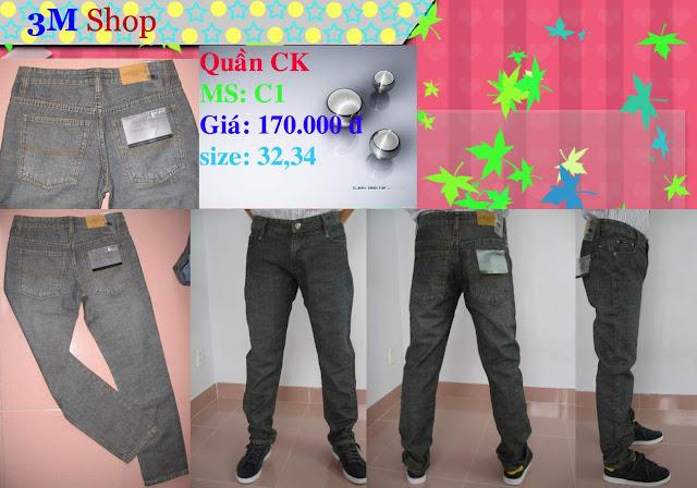 HCM-shop 3em bán quần jean ông địa nam chính hiệu bán với giá rẻ