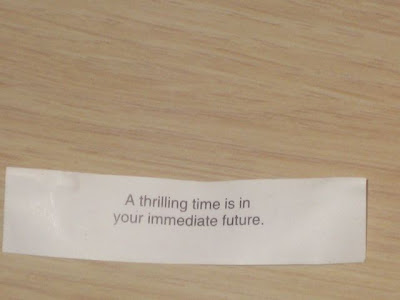 funny fortune cookie sayings. My fortune cookie message