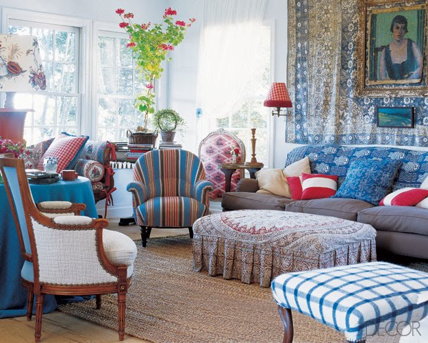 Blue Artichoke Interiors: Red, White and Blueautiful