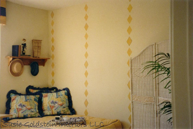 Blue Artichoke Interiors: Hand Painted Walls and Decorative Wall ...