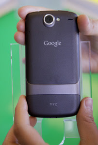 Google Nexus One Phone Back Side