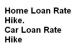 Loan Rate Hike