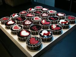 cupcake chocolate ganache