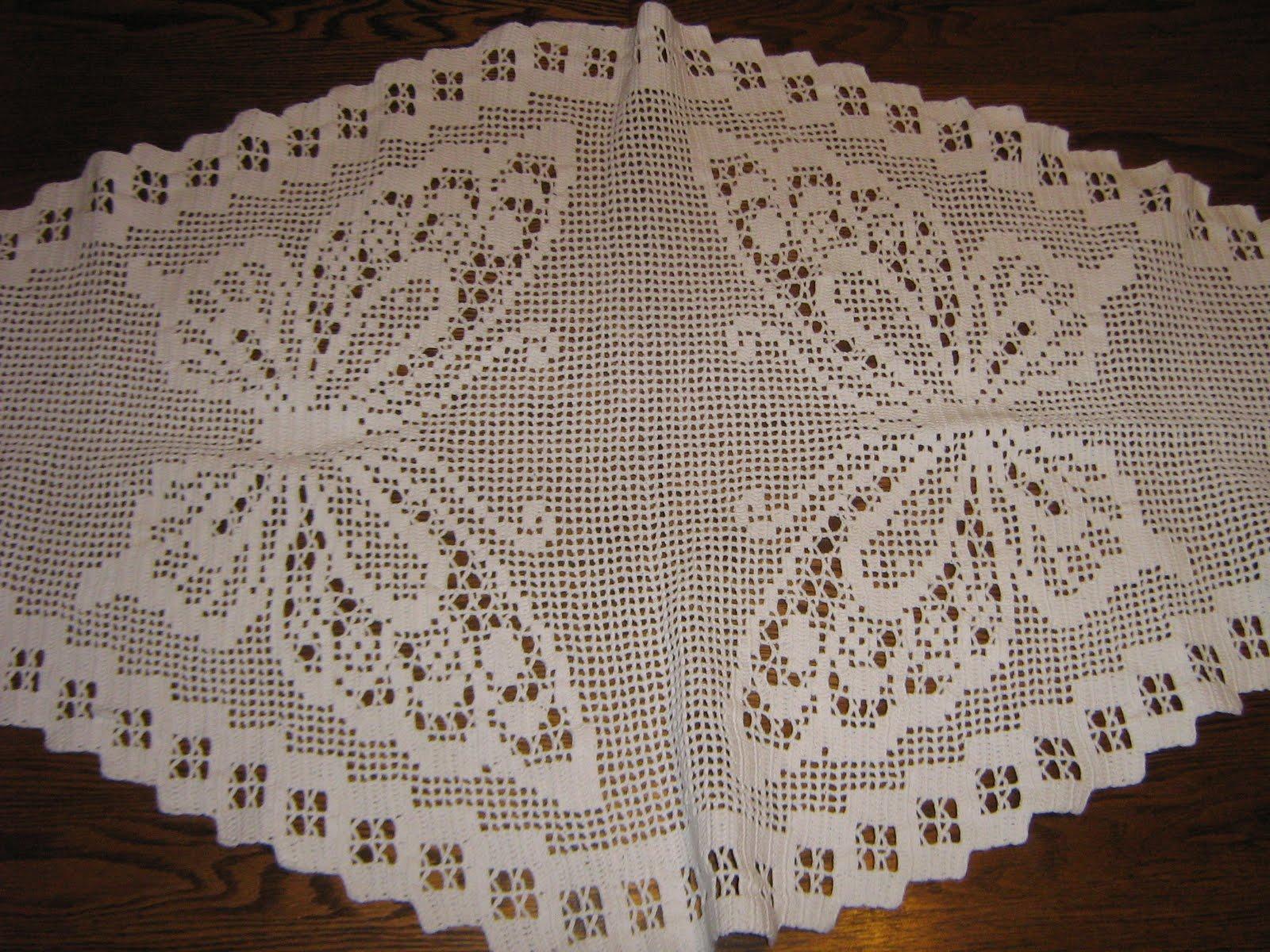 Manteles tejidos crochet car interior design - Mantel de crochet ...