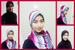 Model Tudung Scallop Corak & Plain F.U.C