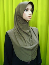 Tudung Lycra Plain (L Size)