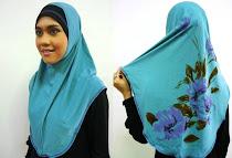 Tudung Syria Batik (L Size)