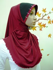 Tudung Permata Qistina Scallop