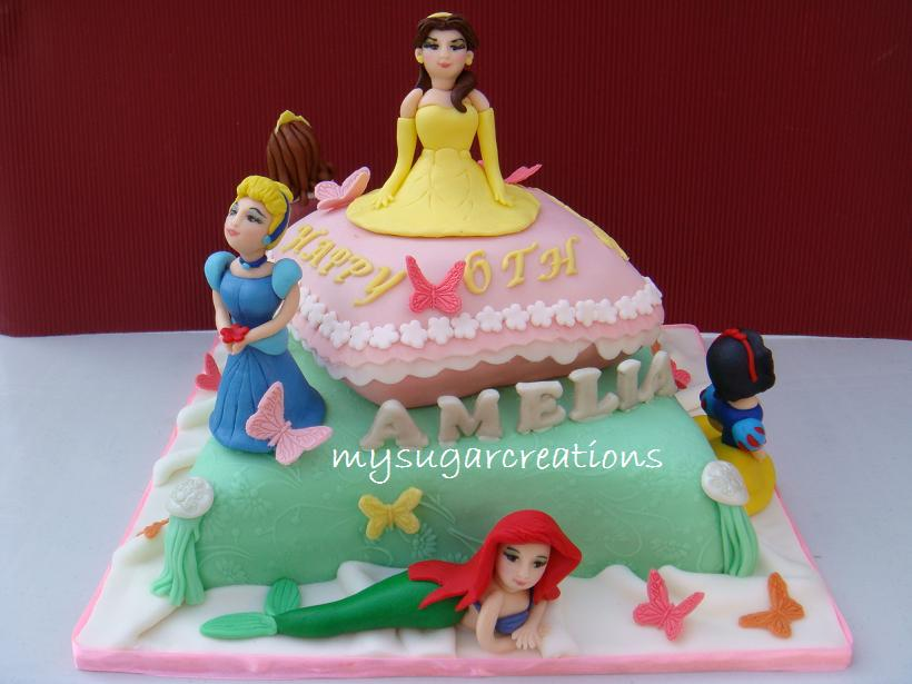 My Sugar Creations (001943746-M): Princess Pillow Cake