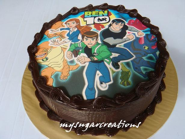 Barbie Chocolate Cake Images : My Sugar Creations (001943746-M): Barbie & Ben10 Cakes