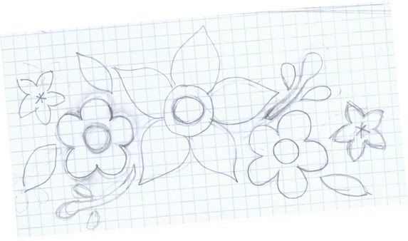 free applique flower pattern for flowers on quilts