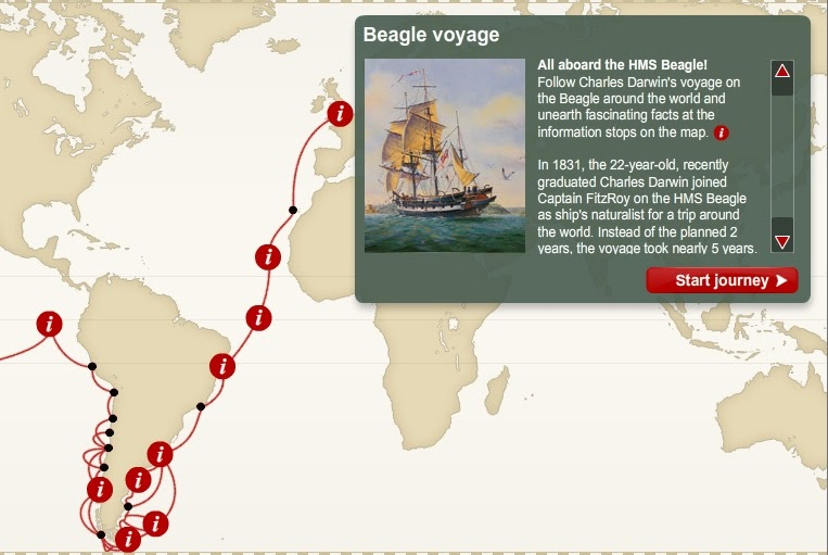 The Beagle Project Blog Interactive Voyage of the Beagle