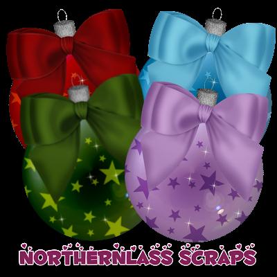 http://nothernlassscraps.blogspot.com/2009/12/freebie-starry-christmas-balls.html