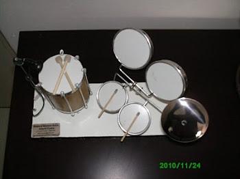 Mini palco percussão
