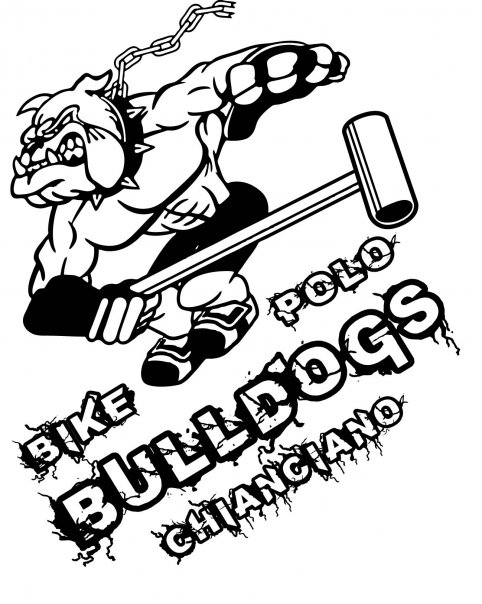 bulldogs bike polo chianciano