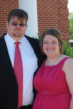 Jason and I at Amanda's Wedding