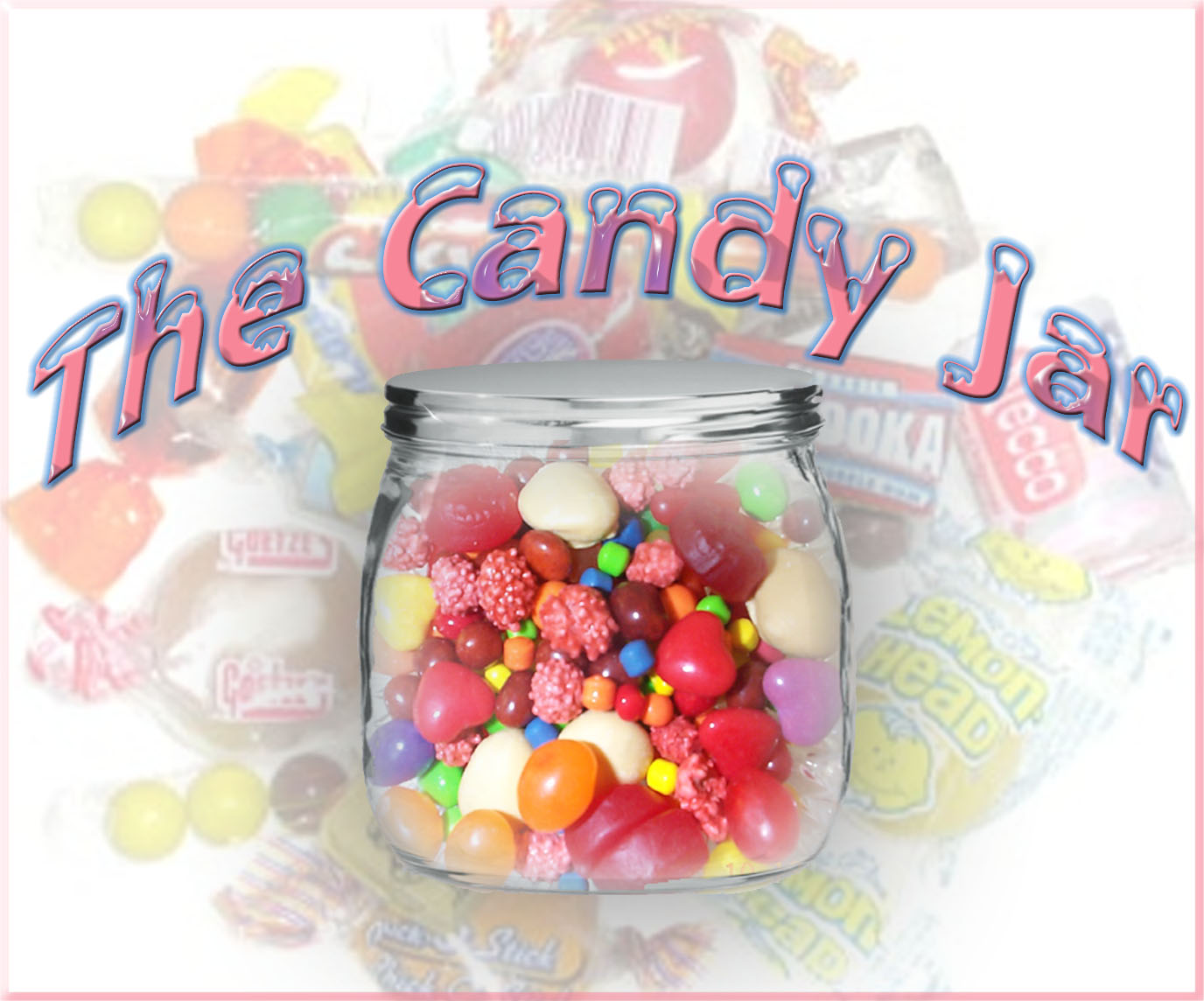 Coloring Page Of A Candy Jar EBook Database