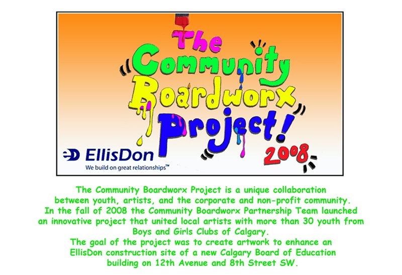Urban Youth Worx- EllisDon Board of Education