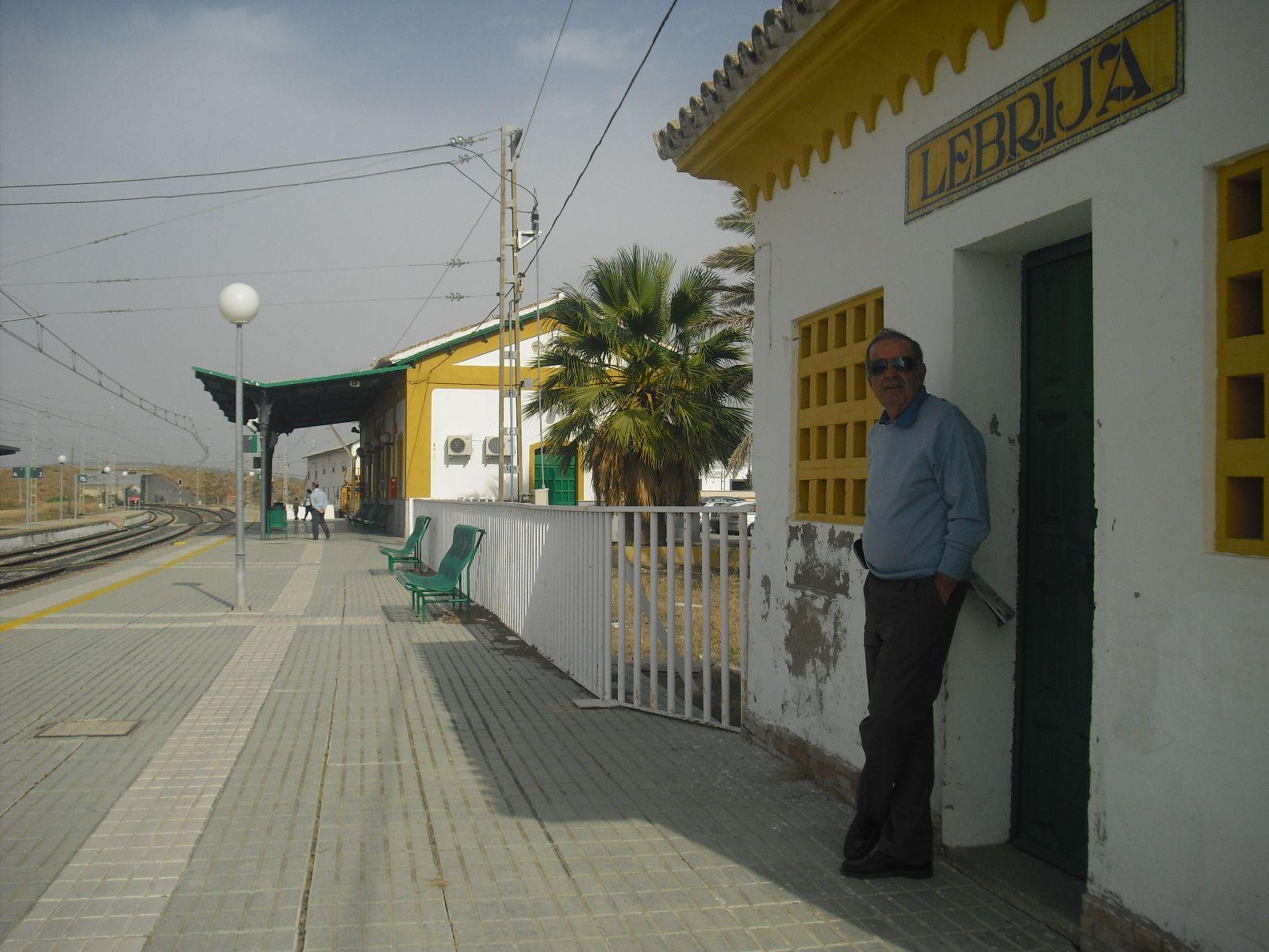 Senderismo por c diz lebrija - Estacion de tren puerto de santa maria ...