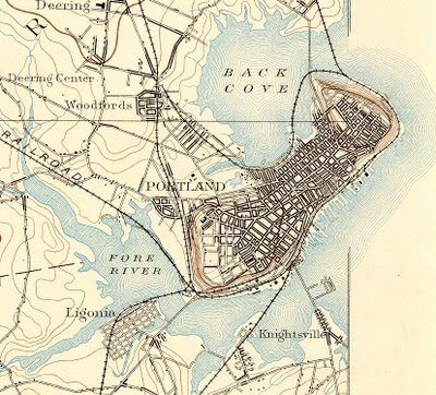 The Vigorous North Portland Maine In Historic USGS Topographical - Topographical map of maine