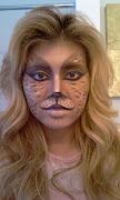 SOPHI THE STYLIST: My Halloween Cat Makeup Tutorial