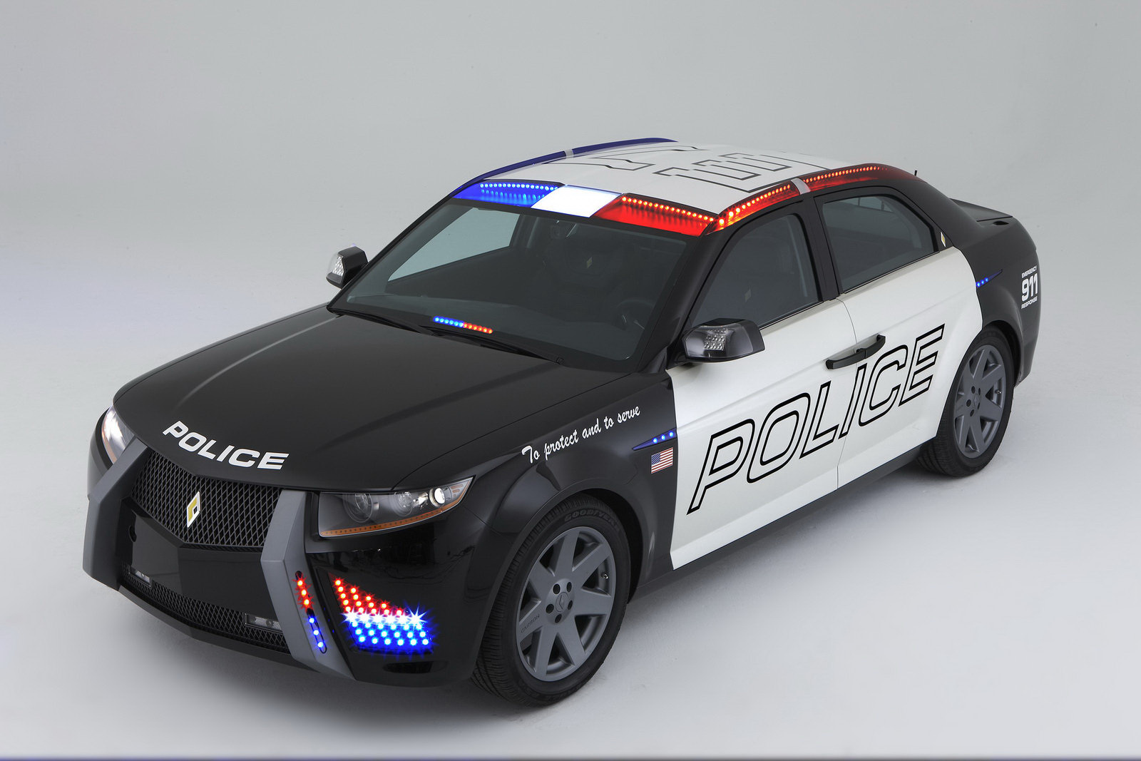 World Concept Cars Carbon Motors E7 Police Car Gets Bmw