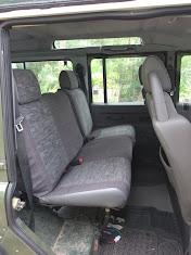 The rear seats