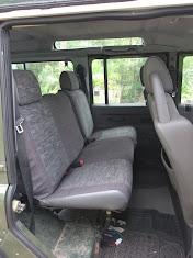 The rear seats