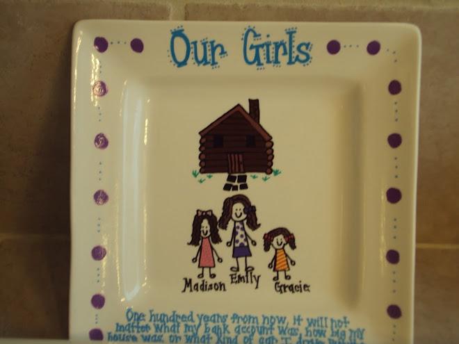 More Doodle plates...